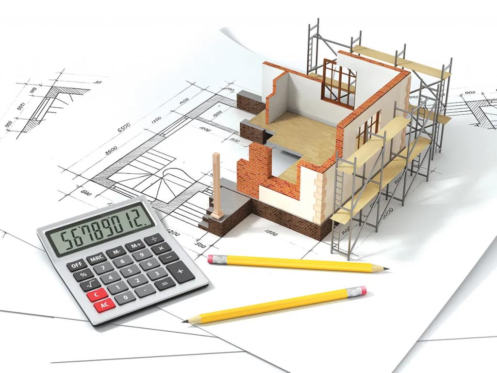 حساب تكلفة البناء